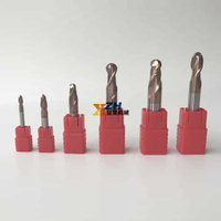 2/3/4 Flutes Ball Nose End Mill