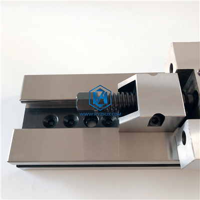 GT Precision Modular Super Vise with V Angel Groove Vise Jaws
